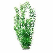 Plastic Underwater Aquarium Grass Plant Decor 18.5 inches Green H1