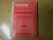 Werkstatthandbuch Automatikgetriebe A55 TOYOTA TERCEL 1979 / 98397