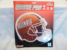 ILLINOIS FIGHTING ILLINI   Football Helmet  MOUSE PAD   by Rico   New in Package