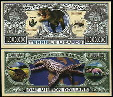 DINOSAURS Novelty Bill with protector and Free Shipping