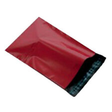 """50 Red 12x16"""" Mailing Postage Postal Mail Bags"""