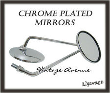 [LG2356]HONDA CB125 CL125 CL125A CB175 CL175 GL175 MIRROR 1PAIR*CHROME*[10/16MM]