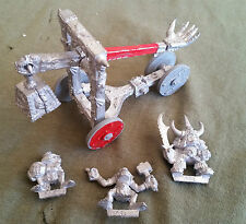 Warhammer Fantasy Orc Rock Lobber - Metal - Unpainted - Almost Complete