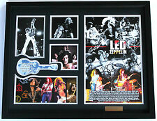 New Led Zeppelin Signed Limited Edition Memorabilia
