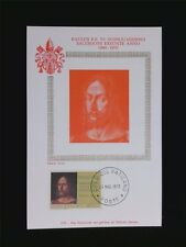 VATICAN MK 1970 JESUS CHRISTUS MAXIMUMKARTE CARTE MAXIMUM CARD MC CM c6220