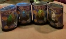 2004 Neopets Collectible Figurines lot of 4 Mochog Shoyru Chomby and Cybunny