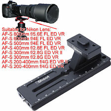Tripod Mount Ring Foot Quick Release Plate for Nikon AF-S 800mm f/5.6E FL ED VR