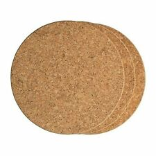 Fox Run Set of 3 Round Cork Trivets (4440)