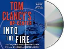 TOM CLANCY'S OP-CENTER - INTO THE FIRE unabridged audio CD by TOM CLANCY