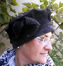 Damenmütze Wollmütze von Mc Burn Anthrazit/Schw   Wollmützen Wollhüte  Damenhüte
