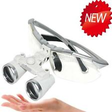 SALE OFF!! SILVER Surgical Medical Binocular Loupes 3.5X 420mm Glasses ca a+ new