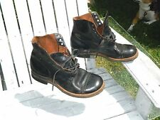 """1940's Unknown Brand 6 """" Work Boots / US Men size: 10 E / Used / Made in USA"""
