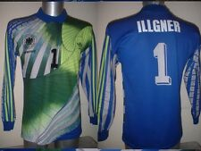 Germany Illgner Adidas Shirt Jersey Adult Medium EURO 92 Trikot Deutschland GK
