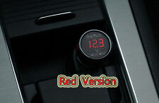 12V-24V Digital LED Display Volt Meter Auto Car Cigarette Lighter Voltage Gauge