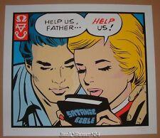 Frank Kozik Help Us Father Poster Print Signed Numbered Art