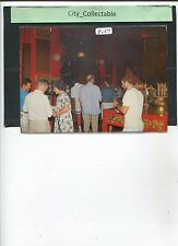 P067 # MALAYSIA PICTURE POST CARD * PENANG SNAKE TEMPLE