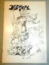 DESTINY # 1 COMIC FANZINE DOC SAVAGE VS THE SHADOW ALFREDO ALCALA ART FEATURES