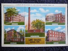 1936 A Group of Buildings at Lane College in Jackson, Tn Tennessee PC