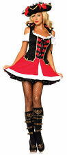 Womens X-Small (0-2) Aye Aye Admiral Pirate Costume - Pirate Costumes
