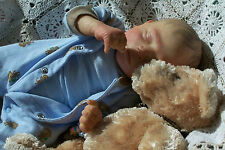 Realborn Preemie Baby Boy, Thomas Lee, a real baby replica!!! Sale Priced!!!