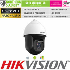 HIKVISION PTZ NETWORK IP CAMERA 1080P 36x ZOOM SMART AUTO TRACKING 200M IR WIPER