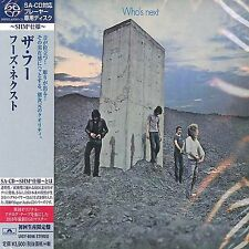 THE WHO - WHO'S NEXT - JAPAN JEWEL CASE SACD SHM LIMITED EDITION CD - UIGY-9596
