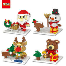 Christmas Santa Claus 4 sets Nano Block micro mini educational building toy
