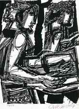 DANKET DEM HERRN MIT HARFEN - Psalm 33,2 - Hans ORLOWSKI - Handsigniert