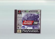 PREMIER MANAGER 2000 - PS1 FOOTBALL GAME / PS2 PS3 COMPATIBLE FAST POST COMPLETE