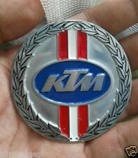 VINTAGE KTM PARTS BADGE LOGO EMBLEM FOR SALE JERSEY ENDURO BICYCLE DIRT BIKE