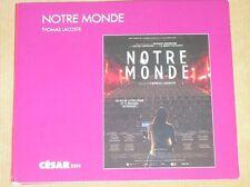 RARE DVD DOCUMENTAIRE / NOTRE MONDE / THOMAS LACOSTE / EDITION SPECIALE / TR B E