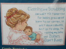 Jiffy/Dimensions Counted Cross Stitch Kit ~ Gentle Reminder ~ NIP
