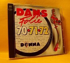 CD Dans Folie 70•71•72 Radio DONNA (2XCD) Compilation 30TR 1994 Soul Funk Rock