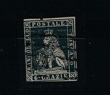 FRANCOBOLLI 1851 TOSCANA 6 CRAZIE B/3286