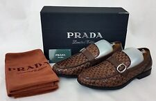 Prada Limited Edition Men's Brown Casual Loafers Dress Shoes Size 40 / 7, Italy