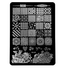 Design Multi Pattern Nail Art Image Stamp Stamping Plates Manicure Template N2