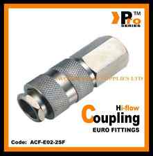 1/4''Euro Coupling ( Hi Flow ) Female - Quick Release - Air Line Fittings
