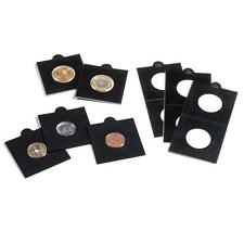 Self-adhesive Black Matrix 2x2 (50 x 50 mm) coin holders for coins up to 35 mm