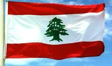 NEW 3x5 ft LEBANON LEBANESE FLAG