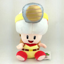 Captain Toad Super Mario Bros Brigade Leader Plush Soft Toy Stuffed Animal 7""