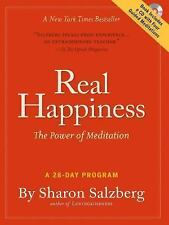 Real Happiness: The Power of Meditation: A 28-Day Program, Salzberg, Sharon, New