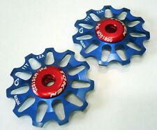 gobike88 TOKEN TK1711 Rear Derailleur Jockey wheel / Pulley, 11T, Blue, A58