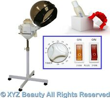 Dual Strength Hair Steamer Color Processing Conditioning Beauty Salon Equipment