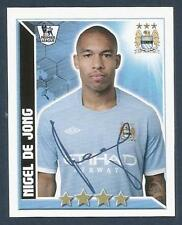 TOPPS 2011 PREMIER LEAGUE #252-MANCHESTER CITY & HOLLAND-AJAX-NIGEL DE JONG