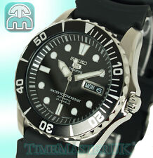 SEIKO 5 SPORTS MENS AUTOMATIC DIVER STYLE RUBBER STRAP SNZF17J2 SNZF17