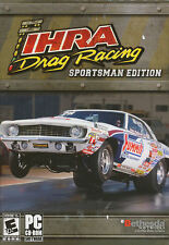 IHRA DRAG RACING Sportsman Edition - Rare Classic Drag Race PC Game - New in Box
