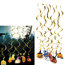 Halloween Party Decors Hanging pumpkin ghost Paper Decoration Tassel Beauty