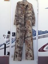 WALLS Camo Hunting CoverAlls  Real Tree 100% Cotton size L --approximate-no tag
