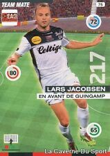 076 LARS JACOBSEN DENMARK EAG GUINGAMP CARD ADRENALYN 2016 PANINI