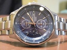 SEIKO 7T92-ONYO MENS 1/20th SECOND CHRONOGRAPH PILOT